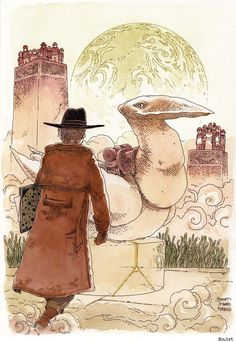 The Comics Community Pays Tribute to Jean 'Moebius' Giraud in Words and Pictures