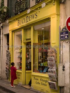 Stock Photo titled: Storefront In Paris France, unlicensed use prohibited