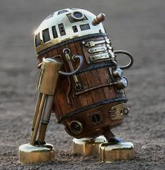 Steampunk R2-D2.