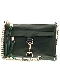 Rebecca Minkoff Mini Mac in Hunter Green
