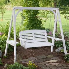 Backyard Swing Diy Back Porches New Ideas Backyard Projects, Diy Wood Projects, Wooden Swing Chair, Bench Swing, Chill Lounge, Porch Swing Frame, Backyard Swings, Frame Stand, Fence Landscaping