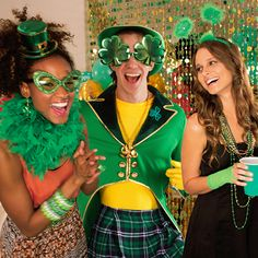 Hit your St. Paddy's Day party or pub decked out in green! Beads, head boppers, feather boas - we have everything you need!