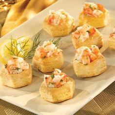 Pepperidge Farm® Puff Pastry - Recipe Detail - Shrimp Scampi Cups