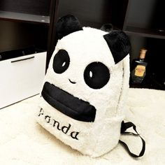 Excellent Quality Top Brand Panda Backpacks Girls Fashion Panda Bags Preppy Style Backpacks 2016 Large Bags Girl Free Shipping