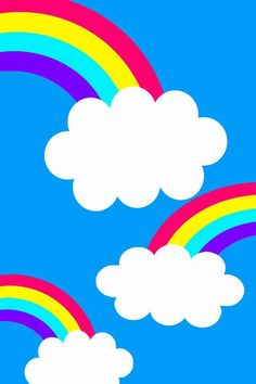 Iphone Wallpaper - Rainbow Cloud Iphone Background by on DeviantArt - Wallpaper Engine Flower Phone Wallpaper, Rainbow Wallpaper, Wallpaper Backgrounds, Iphone Wallpaper, Wallpaper Kawaii, Imprimibles Toy Story, Rainbow Songs, Birthday Frames, Rainbow Background