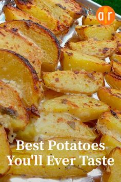 "The best potatoes you will ever try ""This is a wonderful . - The best potatoes you will ever try ""This is a wonderful change from simple potatoes … # - Potato Sides, Potato Side Dishes, Vegetable Dishes, Potato Meals, Vegetable Bake, Pork Chop Side Dishes, Chicken Side Dishes, Meals With Chicken, Chicken Dishes For Dinner"