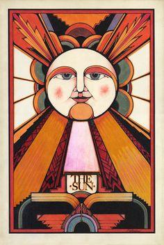 The Sun Poster Print - David Palladini