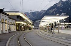 Railway Station by Conradin Clavuot Architekt