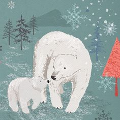 My latest set of illustrations is available on Creative Market and Design Cuts. Cute polar Bears and penguins. They would be great for creating Christmas gifts for little ones or Christmas cards. #polarbear #christmas #festive #penguin #cutechristmas #winterwonderland #designcuts #creativemarket #illustration Cute Polar Bear, Polar Bears, Art Diary, Christmas Illustration, Twine, Penguins, Moose Art, Festive, Christmas Cards