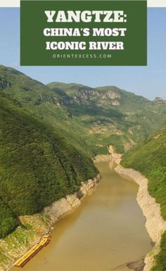 Discovering China's iconic site: Yangtze river, China