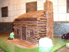 LOG CABIN CAKE | Flickr - Photo Sharing!