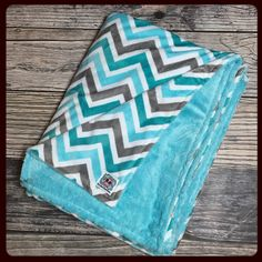 These wide adult double minky blankets are so big and cozy! Custom made to order!