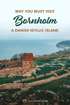 Bornholm Island is a quaint and charming island in the Baltic Sea. It has beautiful nature, gorgeous coasts, and adorable round churches and villages to explore. Check out our mini guide for Bornholm during off-season! #bornholm #denmark #getaways #beautifuldestinations #bucketlist #islands #scandinavian #travelblog
