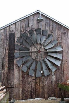 These icons are becoming a rare when driving across the USA, so if they pull at your heartstrings too, better snap it up when you run across one for sale. Their sculptural beauty can be used to set a new scene in your home or garden. Here are several examples of repurposed windmills. The windmill…