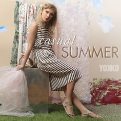 Casual Summer #yokko #stripes #casualdress #madeinromania #summer18