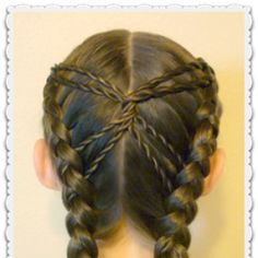 Hourglass Braid, Cute Hairstyles