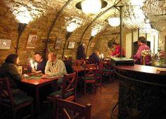 Fabulous underground restaurant in Litomerice