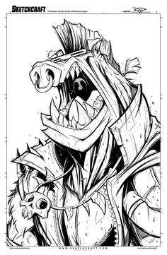 Sketches@Midnight 025 by RobDuenas