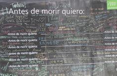 """Já pensaste neste pergunta???  """"Antes de morrer quero:""""  Vê o artigo completo aqui: http://blog.isaetiago.com/antes-de-morrer-quero/"""