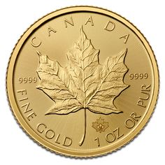2017 1 Oz Canadian Gold Maple Leaf Coins From Jm Bullion