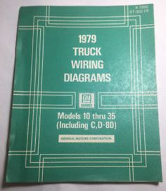 16 best vintage manuals images manual, user guide, truck1979 truck wiring diagrams models 10 thru 35 (including c,d 80) x 7930 st 352 79