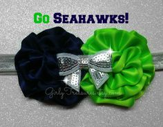 NFL Seattle Seahawks Headband. Baby Headband. by GirlyTreasures, $9.95... Jeremy would love this