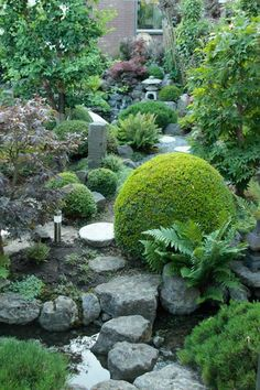 Creating a Japanese garden. Making a Japanese style Garden