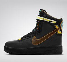 Authentique Riccardo Tisci X Nike Air Force 1 Hi Sp Rt High Boots Femme/ Homme