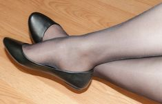 Sexy Legs And Heels, Sexy High Heels, Sexy Feet, Ballerina Shoes, Ballet Flats, Pantyhose Heels, Cute Flats, Nylon Stockings, Wedge Boots