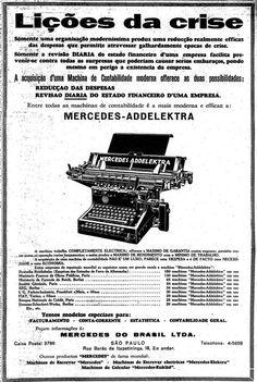 6 de julho de 1930  http://blogs.estadao.com.br/reclames-do-estadao/2011/07/26/licoes-da-crise/