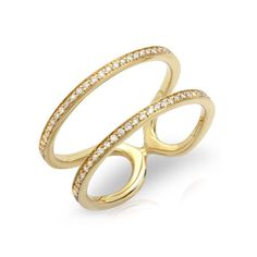 Diamond Bar Ring – Shylee Rose Jewelry