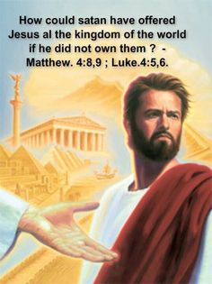 Also read Luke 4:7,8. - Jehovah God is not the one causing all the misery on this earth.