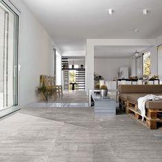 Tile that looks like concrete