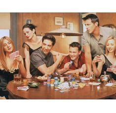 Poker players like me!