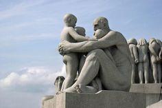 Vigeland Sculpture Park in Oslo Norway-the strangest public park I have ever visited