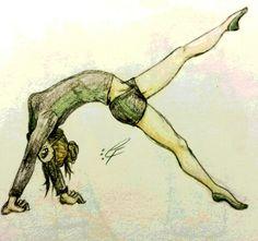 Xodia in her dance warm ups. (Hadrah Foresworn)