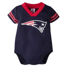 Baby New England Patriots Dazzle Bodysuit 2974bf592
