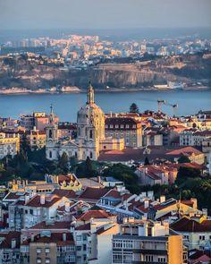 Lisboa vista del alto (amoreias, foto de victor peres)