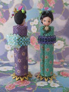 Emiko Beaded Needle Case Pattern by SianNolan on Etsy, $10.00