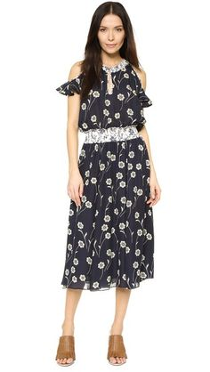 Derek Lam 10 Crosby Cold Shoulder Dress  Love this so much! How is it that this $600 dress is sold out?!
