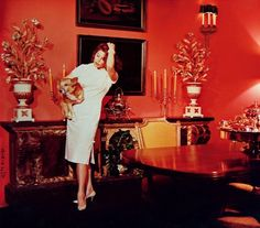 """old hollywood decor - ava gardner """"What am I going to do with Frank? He abhors red?"""" """"Oh, the hell with it.. where are my cigarettes?"""""""