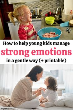 Discover easy and effective tips for teaching young kids how to deal with strong emotions and how to behave better when they feel angry or upset. - Gentle parenting tips Peaceful Parenting, Gentle Parenting, Parenting Hacks, He Is Coming, Youngest Child, Positive Discipline, Kids Behavior, Happy Kids, Raising Kids