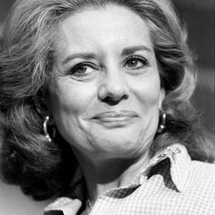 Barbara Walters   1929- TV NEWSWOMAN  The first woman to coanchor a network's nightly news (and earn an unprecedented $1 million a year for it), she's grilled the world's most intriguing people on our behalf. And hey — it was Katharine Hepburn who first mentioned that tree thing; Walters was just following up.