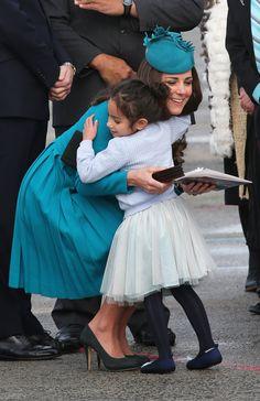 Pictures of Kate Middleton With Little Girls | POPSUGAR Celebrity