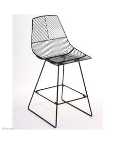 The Johnny Wire barstool is a new addition to Cintesi's indoor and outdoor barstool range. Basic assembly required for residential orders.<br />