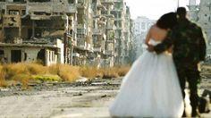 Recién casados en Siria :(