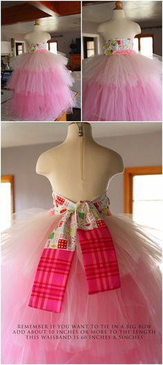 Crafting & Coffee Makes this Momma Happy: How To: Christmas 3 Tier TuTu