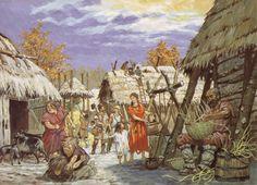 Au temps des royaumes barbares 16 - Village - Pierre Joubert