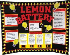 Lemon Battery Science Fair Project