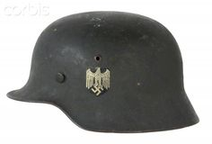 Nazi Germany , M35 Army Helmet with Wehrmacht insignia